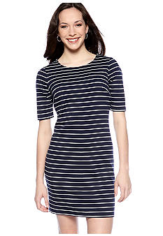 Sunny Leigh Zip Back Shift Dress