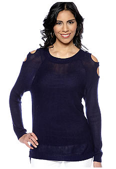 Sunny Leigh Cold Shoulder Sweater