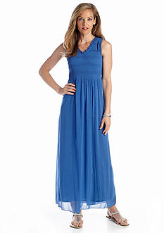 Sunny Leigh Indigo Juliette Maxi Dress
