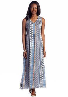 Sunny Leigh Cote d'Azur Chambray Juliette Maxi Dress