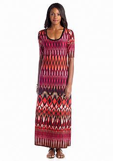 Sunny Leigh Ombre Tie Dye Maxi Dress