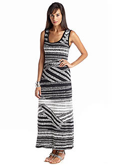 Sunny Leigh Cross Roads Maxi Dress
