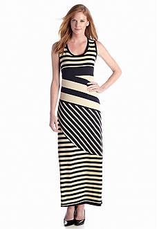 Sunny Leigh Stripe Maxi Dress