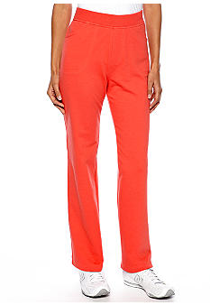 Kim Rogers Petite French Terry Active Pant