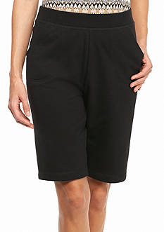 Kim Rogers Petite French Terry Shorts