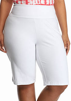 Kim Rogers Plus Size Stretch Jersey Short