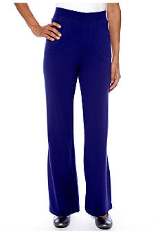 Kim Rogers Petite French Terry Pant