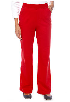 Kim Rogers® Petite French Terry Pant