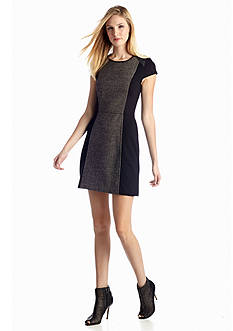 Kensie Double Side Textured Dress