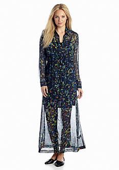 Kensie Kaleidoscope Petals Dress