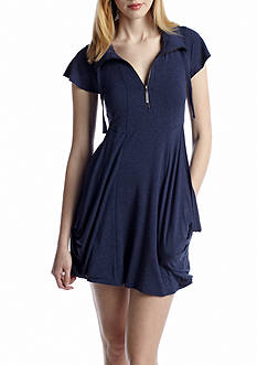 kensie French Terry Dress