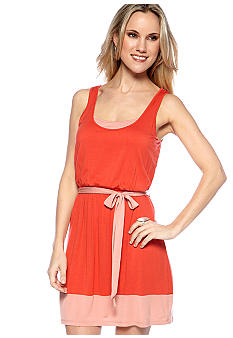 Kensie Color Block Tank Dress