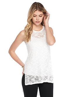 Kensie High Low Sleeveless Sweater