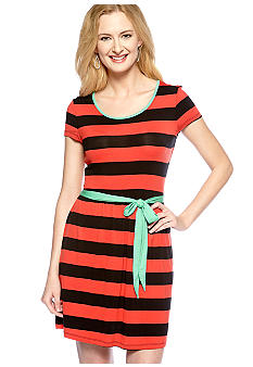 Kensie Lightweight Stripe Dress