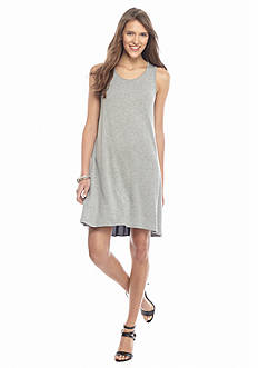 kensie Pleat Back Knit Dress