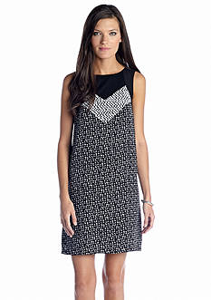 Kensie Ink Dot Dress