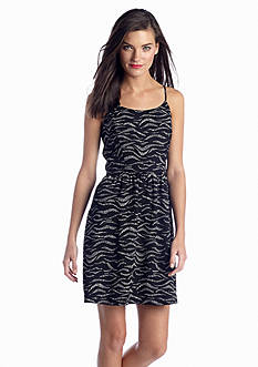 Kensie Sleeveless Printed Dress