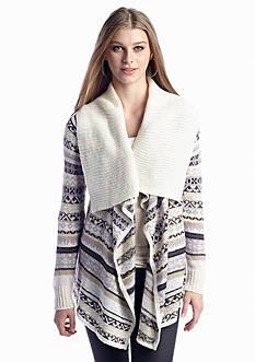 Kensie Tissue Knit Cardigan