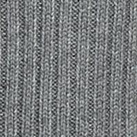 Contemporary: Sweaters: Heather Steel Gray Kensie Sleeveless Turtleneck Sweater
