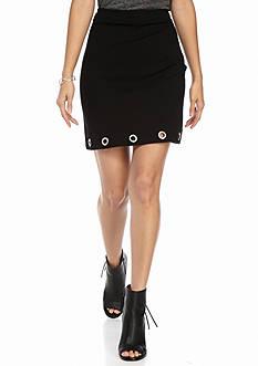 Kensie Grommet Skirt