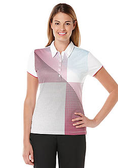 PGA TOUR Front Panel Printed Polo