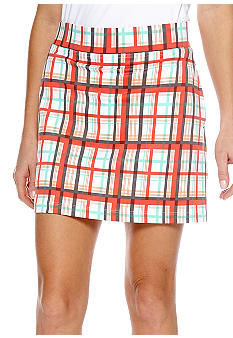 Pro Tour Plaid Knit Skort