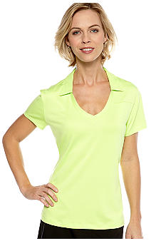 Pro Tour Ladies Short Sleeve V-Neck Polo
