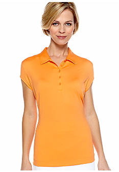 Pro Tour Short Sleeve Ruching Polo