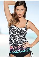 Coco Reef Sunset Peasant Tankini
