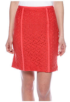 DKNYC Lace Pencil Skirt