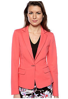 DKNYC Notch Collar Blazer