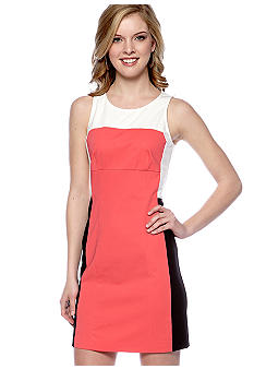 DKNYC Sleeveless Contrast Dress