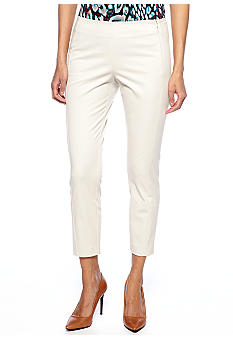 DKNYC Skinny Crop Pant with Side Panel