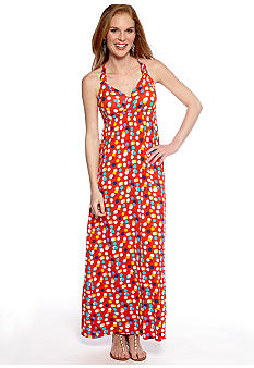 New Directions Weekend Maxi Dress Racerback