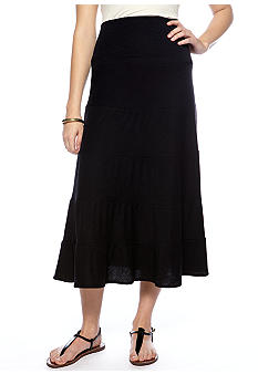 New Directions Foldover Skirt