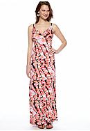 New Directions® Petite Printed Maxi Dress