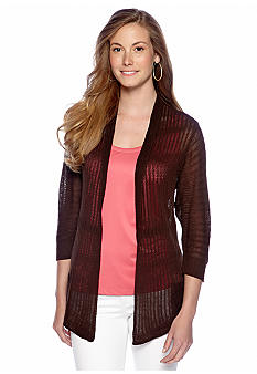 New Directions Long Cardigan