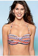 Kenneth Cole Reaction Swanky Bandeau Swim Top