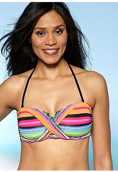 Kenneth Cole Wrap Star Bandeau Bra Top