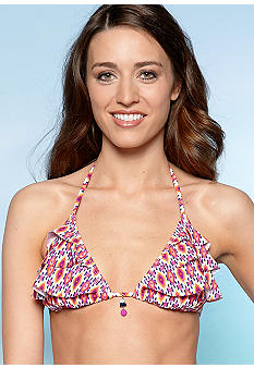 Kenneth Cole Reaction Charmed Triangle Halter Top