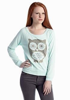 Jolt Stud Owl Sweatshirt