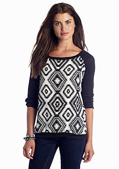 Jolt Tribal Diamond Sweatshirt