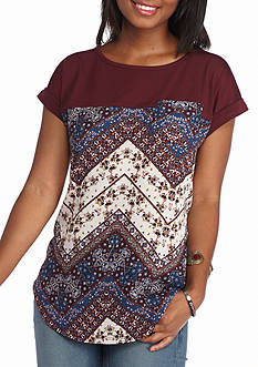 Jolt Promo Printed Top