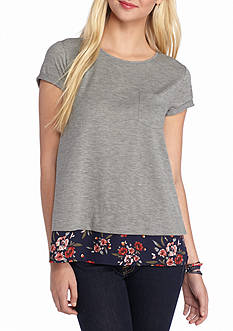 Jolt Pocket Heather Tee
