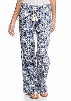 Jolt Wide Leg Printed Sailor Pants