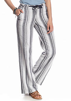 Jolt Striped Linen Pants