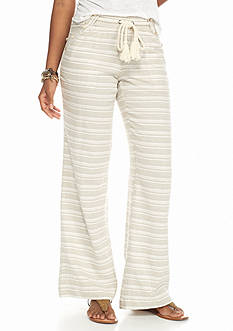 Jolt Sailor Stripe Linen Pants