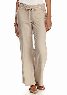 Jolt Solid Linen Pants