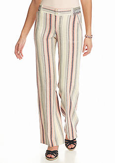Jolt Stripe Linen Pants