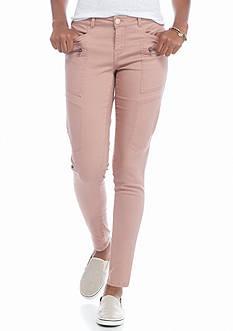 Jolt Cargo Twill Skinny Pants